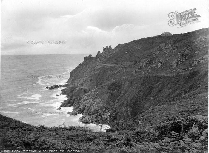 Photo of Zennor, Cliffs 1928