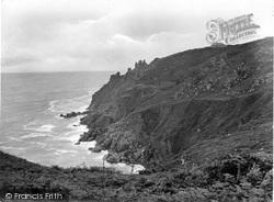 Zennor, Cliffs 1928