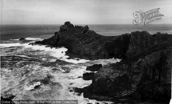 Photo of Zennor, Gurnards Head c.1955