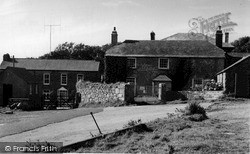 Zennor, Post Office c.1955