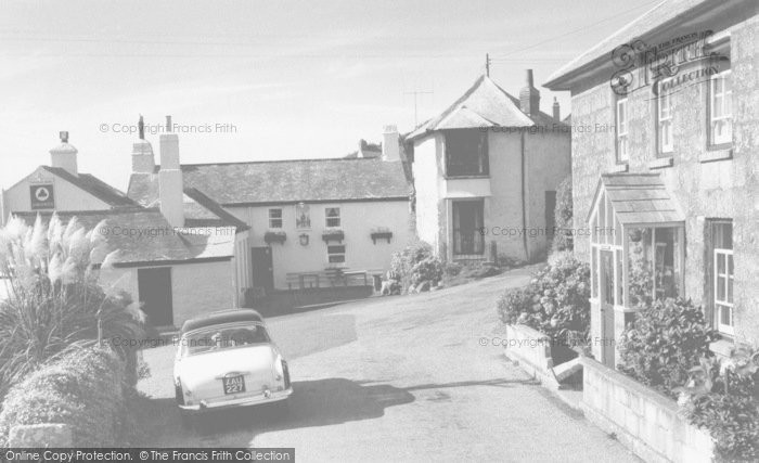 Photo of Zennor, The Tinners Arms c.1960