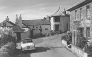 Zennor, the Tinners Arms c1960