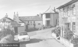 The Tinners Arms c.1960, Zennor