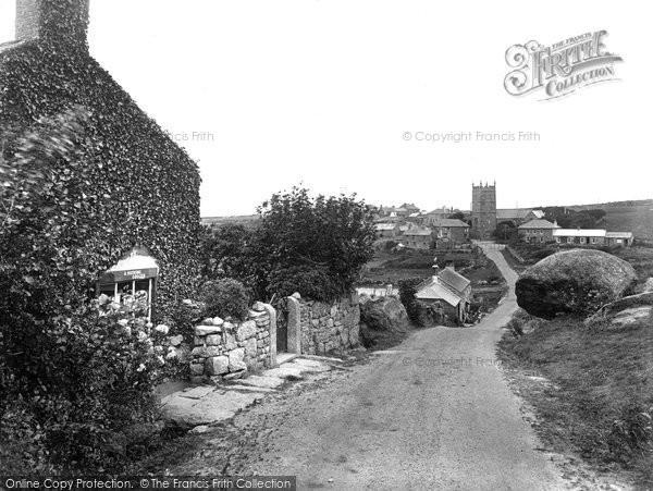 Photo of Zennor, Village 1928