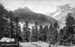 Near Riffelhaus, Lac Noir c.1871, Zermatt