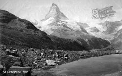 The Matterhorn c.1875, Zermatt