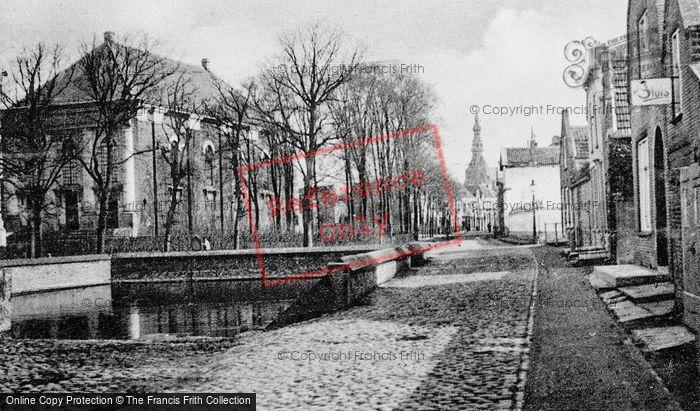 Photo of Zierikzee, Gezicht Op St Lievens Monster Kerk En Stadhuis c.1935