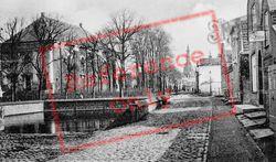 Gezicht Op St Lievens Monster Kerk En Stadhuis c.1935, Zierikzee