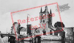 Zuidhavenpoort And Wipbrug (Bridge) c.1935, Zierikzee