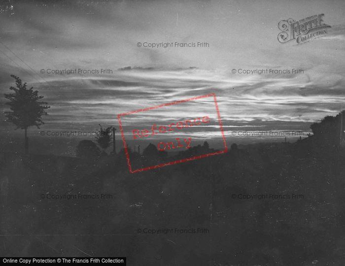 Photo of Zurich, Sunset c.1935