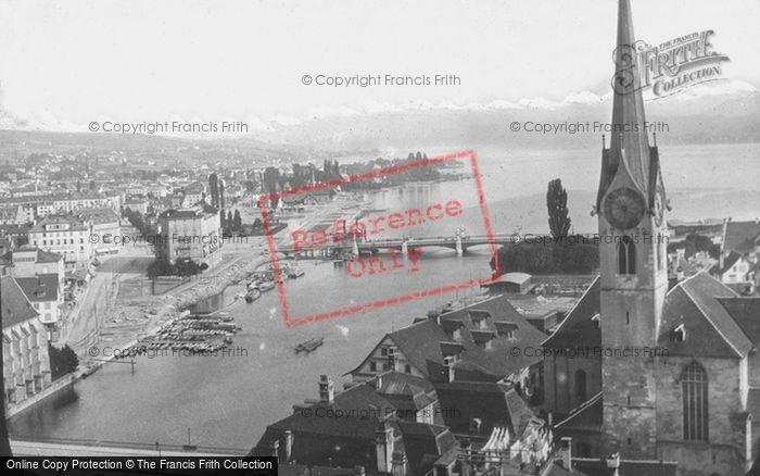 Photo of Zurich, Zurich Lake c.1880