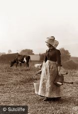 Hawsker, Milk Maid c1880