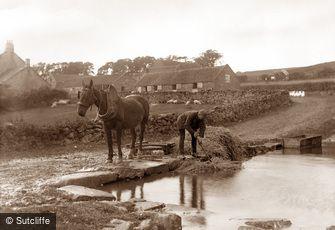 Lealholm, Lealholm Hall Farm c1880
