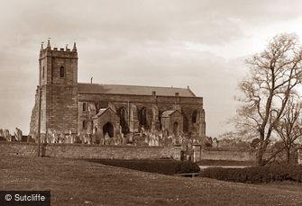 Lythe, Church c1880