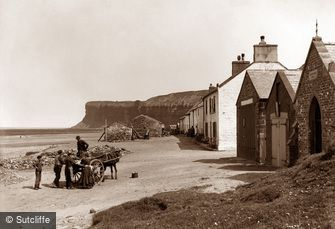 Saltburn-by-the-Sea, c1880