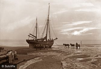Sandsend, Beach c1880