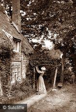 Sandsend, Gardener's Daughter c1880