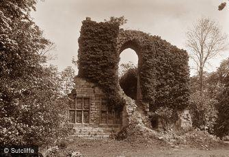 Sandsend, Old Mulgrave Castle c1880