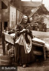 Staithes, Mrs Longster c1880