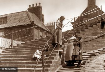 Whitby, 199 Steps c1880