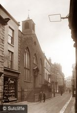 Whitby, Baxtergate c1880