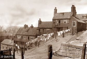 Whitby, Boulby Bank c1880