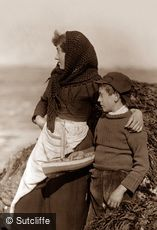 Whitby, Boy and Girl c1880