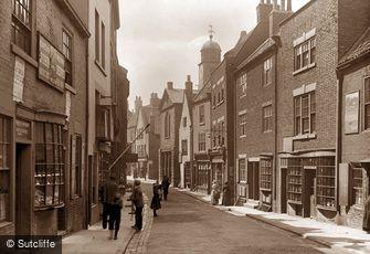 Whitby, Church Street c1880