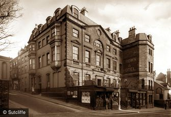 Whitby, Crown Hotel c1880