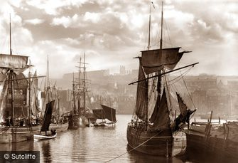 Whitby, Dock End 1880