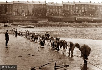 Whitby, First Electric Cable c1880