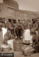 Whitby, Fish Market c1880