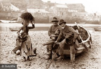 Whitby, Fisherfolk c1880