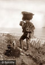 Whitby, Fisherman and Boy c1880