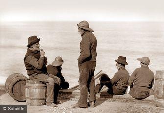 Whitby, Fishermen c1880