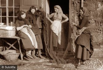 Whitby, Fisherwomen c1880
