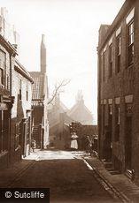 Whitby, Hunter Street c1880