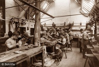 Whitby, Jet Workshop c1880