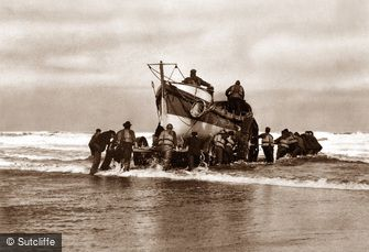 Whitby, Lifeboat c1880