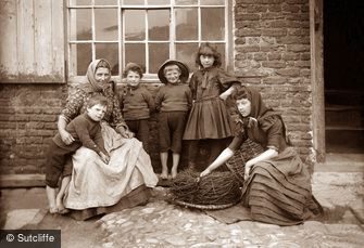 Whitby, Peart Family c1880