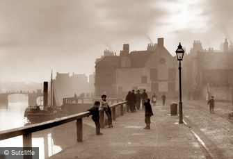 Whitby, Pier Road c1880