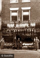 Whitby, Poultry Shop c1880