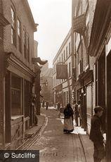 Whitby, Sandgate c1880