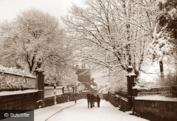 Whitby, St. Hilda's Terrace c1880