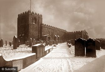 Whitby, St. Mary's Church c1880