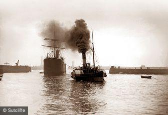 Whitby, Steam Tug c1880