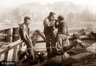 Whitby, Stoking Up c1880