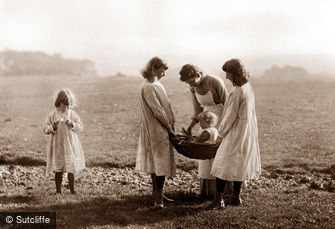 Whitby, Sutcliffe's Family c1880