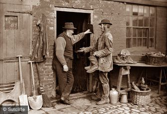 Whitby, Tagreen Shop c1880