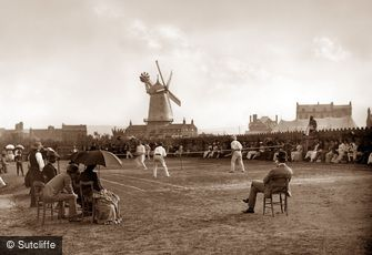 Whitby, Tennis Match c1880